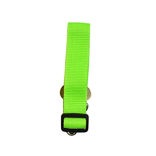 ZIRASS Adjustable Dog Seat Belt For Dogs Stainless Steel Supply Leash Strong Nylon Traction Car Safety Dog Accessories Pet Product Green Free Size (Lupine Solid Green)
