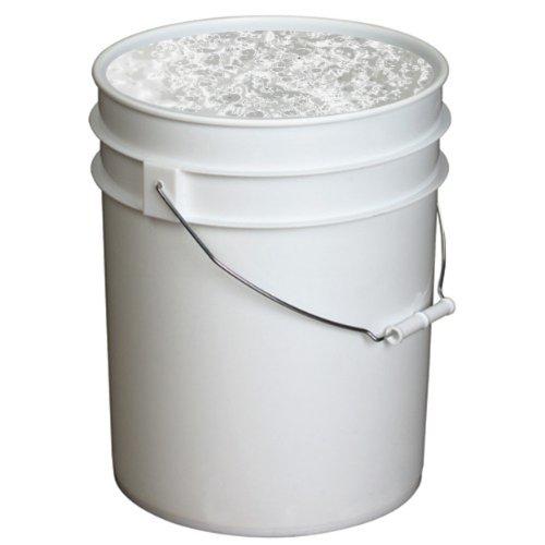 Handy Art UV Neon Event Paint in Bucket, 5-Gallon, White -