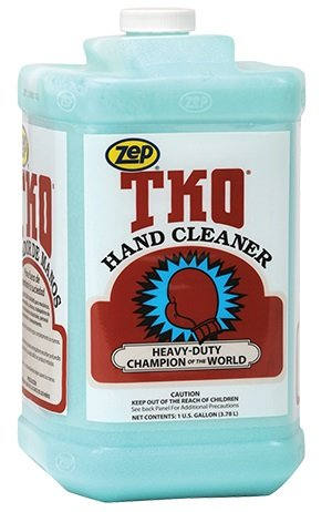 - 	 ZEP096024 TKO Non-Solvent Heavy Duty Hand Cleaner. (4) Gallon Containers