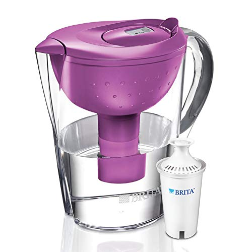 Brita Pacifica 10 Cup Water Filter Pitcher (Berry)