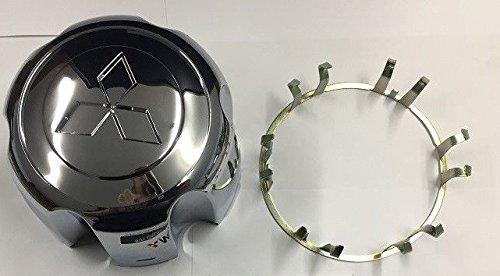 IGGY Cromo Central Tapacubos & Clip para Mitsubishi Pajero Shogun L200 Sport: Amazon.es: Coche y moto