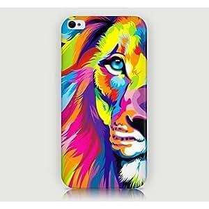 WQQ Funda Trasera - Gráficas/Diseño Especial/Innovador/Animal - para iPhone 4/4S/iPhone 4 ( Multicolor , Plástico )