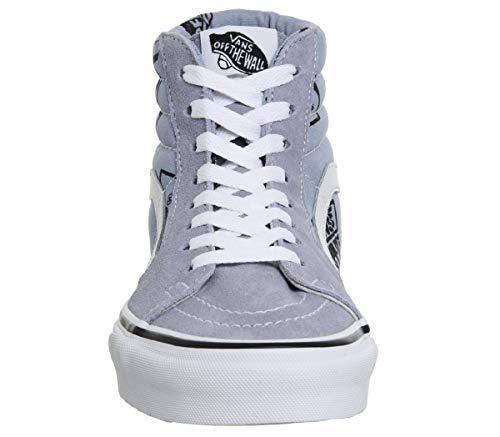 Vans Hi Black Trainer Suede SK8 Logo Unisex Lustre Lavender qqw17Panx