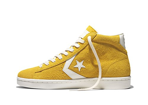 Mid Converse Vintage yellow 76 Suede Leather Pro tq6pz