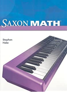Saxon Math Intermediate Grade 3 Saxon Publishers 9781600325342