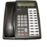 Toshiba DKT-3020SD 20 button LCD Display Speakerphone Telephone (Charcoal / Refurbished)