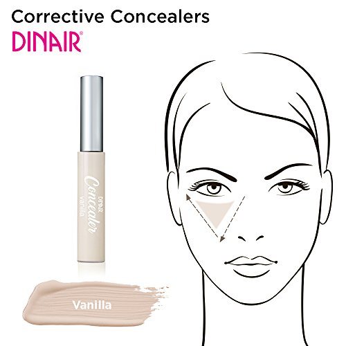 Dinair Makeup   Under Eye Concealer & Highlighter   Vanilla
