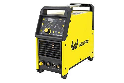 Weldpro Welding Machine Digital TIG ACDC 200GD Standard Euro Torch or optional CK Superflex Torch & Trigger Switch 200 Amp TIG/STICK Welder with Pulse