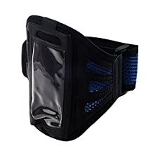 Running Armband Case for iPhone6 - SODIAL(R)Outdoor Gym Sport Running Adjustable Armband Case Cover for iPhone6 Blue