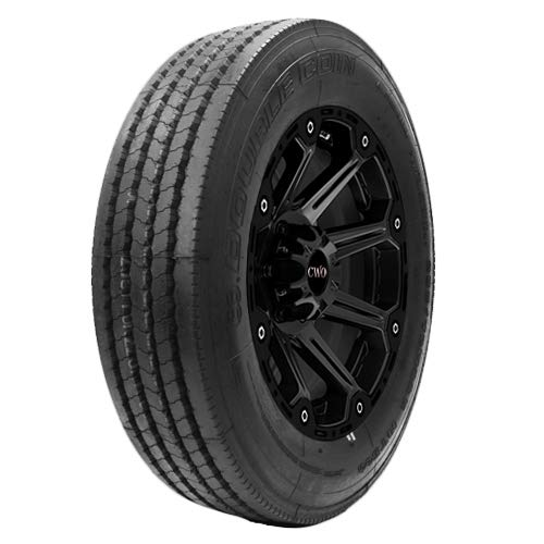 Double Coin RT500 Premium Low Profile All-Position Multi-Use Commercial Radial Truck Tire - 255/70R22.5 16 ply