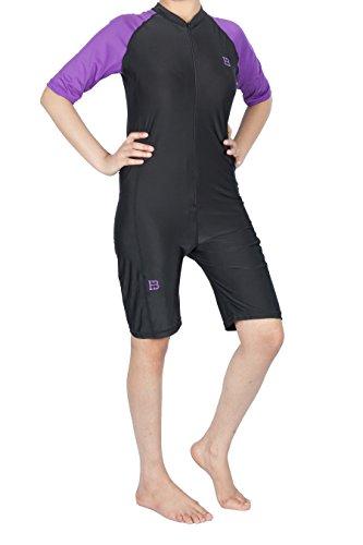 Huxlay Bros - Costume intero - Donna Purple