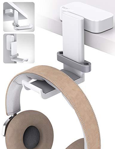 Lamicall Headphone Stand, Swivels Headset Hanger – Adjustable Desktop Earphone Holder Hook Mount for Gaming Headset…