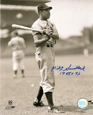- Autographed Signed Mike Sandlock 8x10 Brooklyn Dodgers Photo - Certified Authentic