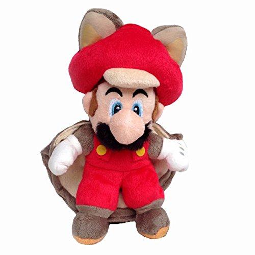 Flying Red Squirrel (New Super Mario Bros. U Flying Squirrel Mario Soft Plush Toy Stuffed Animal Red 9