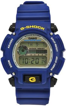 Casio Men s DW9052-2 G-Shock Blue Rubber Digital Dial Watch