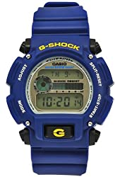 Casio Men's DW9052-2 G-Shock Blue Rubber Digital Dial Watch
