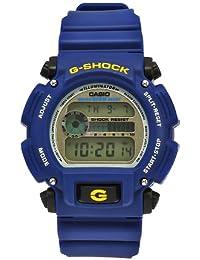 Men's DW9052-2 G-Shock Blue Rubber Digital Dial Watch