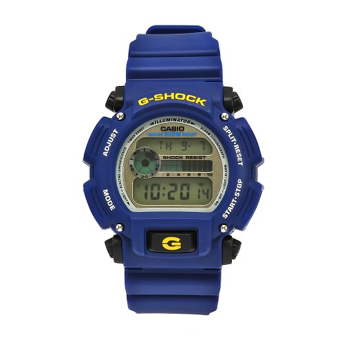 (Casio Men's DW9052-2 G-Shock Blue Rubber Digital Dial)