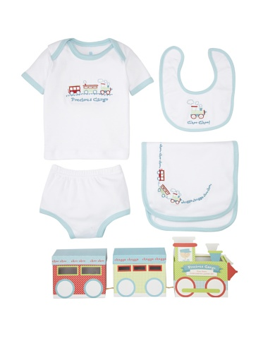 Baby Aspen Precious Cargo Layette Set with Gift Box