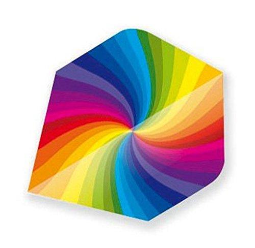- Unicorn Rainbow Swirl Metallic Dart Flight By Unicorn