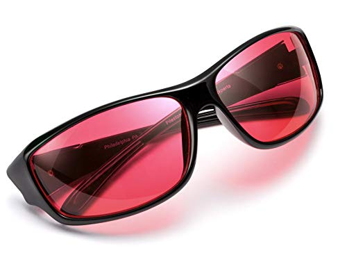 Pilestone TP-016 Color Blind Corrective Glasses for Red-Green Blindness (Color Blind Glasses)- Streamline Sports Use
