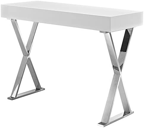 Modway EEI-2048-WHI-SET MO-EEI-2048-WHI-SET Desk, Console Table, White