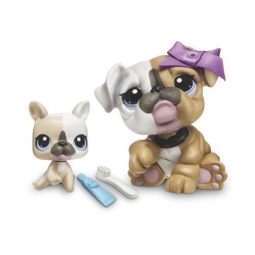 littlest pet shop bulldog littlest pet shop figures bulldog baby bulldog buy 8779