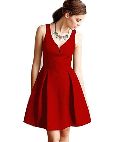 Abendkleid rot kurz   Trendige Kleider für die Saison 2018