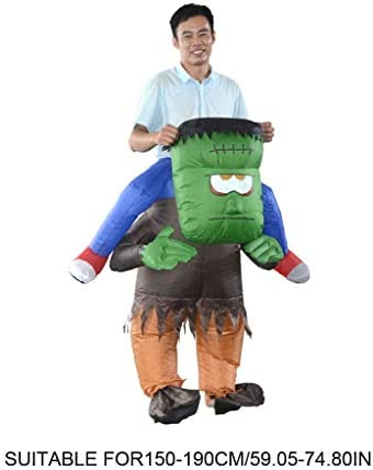 GHTGHTS Disfraz de Frankenstein para Adultos, Divertido, Inflable ...