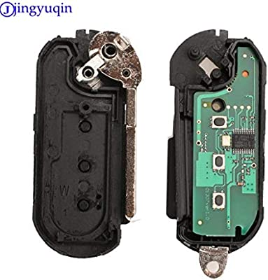 Remote Key Fob 433MHz For Fiat 500 Grande Punto 2010-2017 PCF7946//PCF7946AT Chip