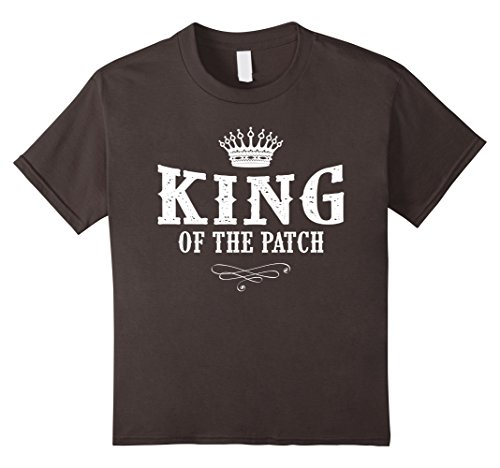 Kids Homemade King Costume (Kids Halloween Costume Shirt King Of The Patch 4 Asphalt)