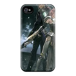 Iphone Cover Case - Final Fantasy Xiii 2 Protective Case Compatibel With Iphone 4/4s