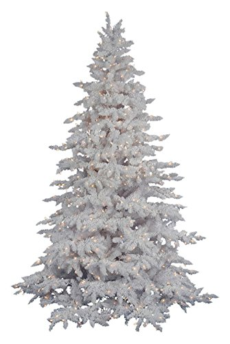 Amazon.com: Vickerman Unlit Flocked Lime Pencil Fir Artificial ...