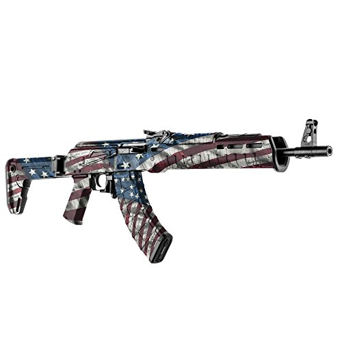 GunSkins AK-47 Rifle Skin Camouflage Kit DIY Vinyl Wrap with precut Pieces (Proveil Victory) (Best American Ak 47)