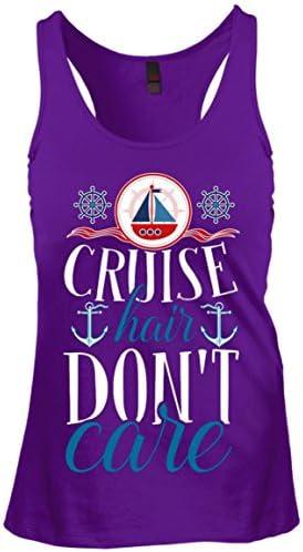 eden tee Cruise Hair Don't Care Tank Top – Funny Cruising – The Super Cheap