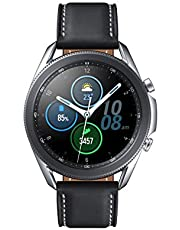 SAMSUNG Galaxy Watch 3 (45mm, GPS, Bluetooth) Smart Watch with Advanced Health Monitoring, Fitness Tracking, and Long lasting Battery - Mystic Silver (US Version)