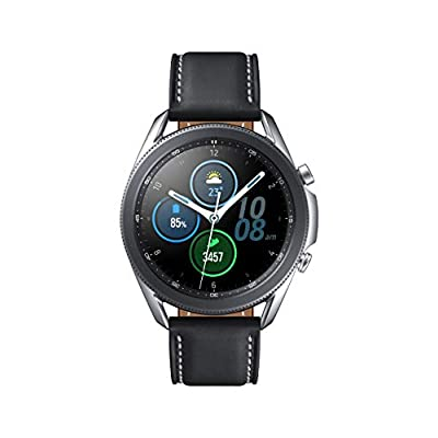 Samsung Galaxy Watch 3 (45mm, GPS, Bluetooth) Smart Watch with Advanced Health monitoring, Fitness Tracking , and Long…