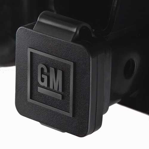 GM Logo Hitch Receiver Plug 12496641