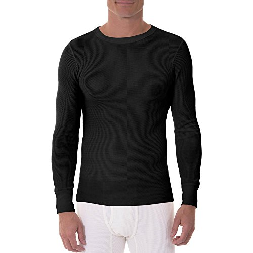 xl black thermal undershirt - 3