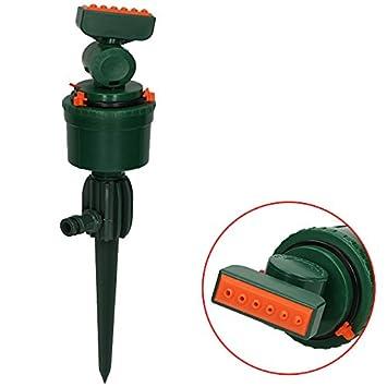 4X Rasensprenger Impulsregner Kreisregner Bewässerung Gartensprenger Sprinkler
