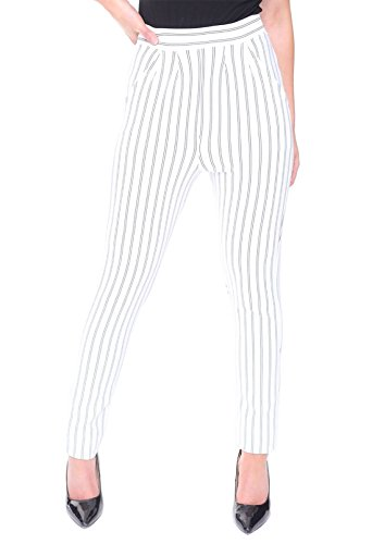 Talla de de mujer 21 Pantalones moda Azul vqwY7Ta