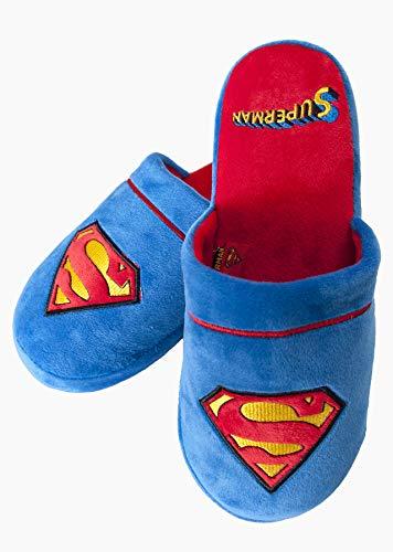 DC Comics Superman Mule Slippers Medium (Size 5-7) from DC Comics
