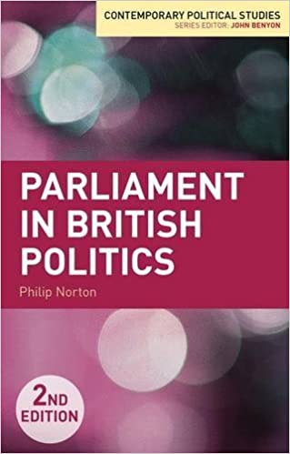 Téléchargez des livres en ligne gratuits en pdf Parliament in British Politics (Contemporary Political Studies) PDF 0230291929 by Philip Norton
