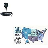 Yaesu Speaker-mic for FT-1DR/FTM-400 w/camera (USB) and Ham Guides TM Pocket Reference Card Bundle