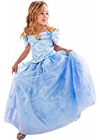 AOVCLKID Kids Children Girls Cinderella Princess Palace Outfit Party Dress