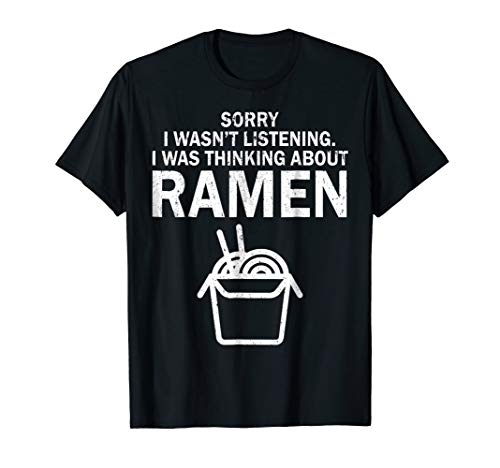 Kawaii Ramen Tshirt Japanese Noodle Food Anime Funny Gift
