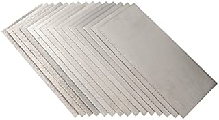 Kamas 170x75mm 60 to 3000 Grit Whetstone Grinding Plate Polishing Grit Diamond Square Whetstone Polishing Sander - (Size: #400)
