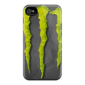 JonathanMaedel Iphone 4/4s Protector Hard Cell-phone Case Customized Realistic Monster Pictures [CcW313axzw]