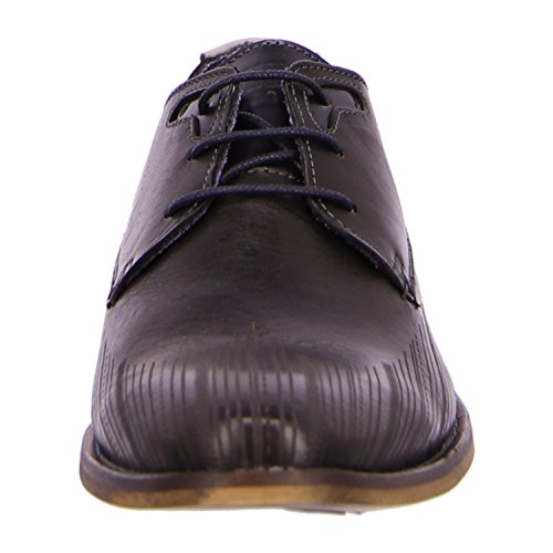 BULLBOXER 615K24783CMXBN - Zapatos de cordones de Piel para hombre Negro - mxbn