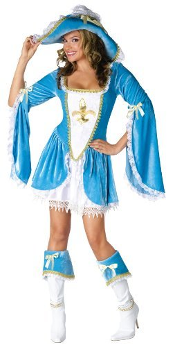Madam Musketeer Adult Costume - Small/Medium (3 Musketeers Costumes)